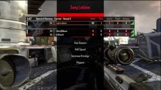 Black Ops 2: Azza Lobby w/ Calculated Match Bonus Proof!