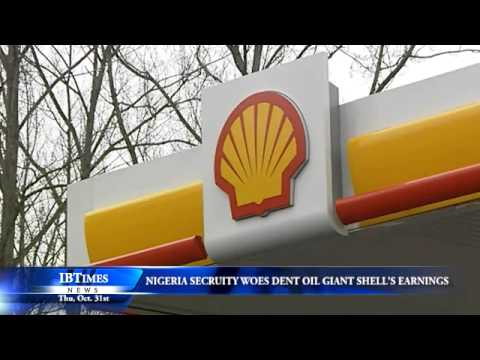 Nigeria Security Woes Dent Oil Giant Shell's Earnings
