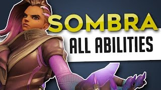 Overwatch | Sombra All Abilities & Gameplay Overview