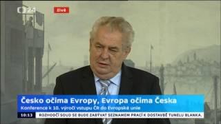 Zeman: Krym je ztracen, konec konců nikdy nepatřil Ukrajině