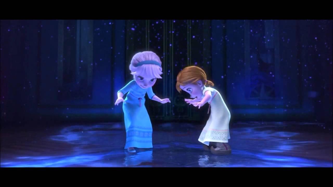 Frozen 2013 elsa and anna french youtube - La ren des neige ...
