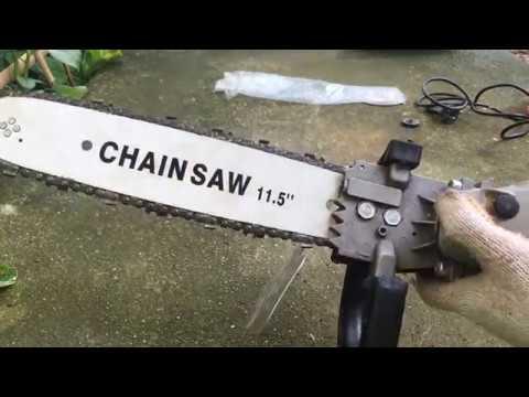 Hướng dẫn – biến – máy cắt cầm tay – thành máy cưa xích mini