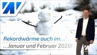 Mit Rekordwärme ins neue Jahr: Der aktuelle Wettertrend bis März 2020!