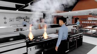 JacoStudio.com - USA Cafeteria design