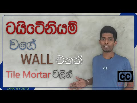 how-to-do-cut-cement-effect-wall-|-using-tile-adhesive-|-in-sinhala-|-diy-|-srilanaka