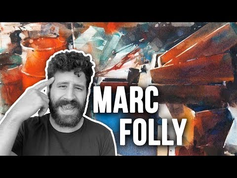 Abstract Realism By MARC FOLLY | Painting Masters 35