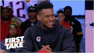 JuJu Smith-Schuster compares Steelers' drama to the Kardashians | First Take