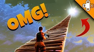 ESCALIER VERS LE CIEL! - Funny Fortnite Moments 24 - V-Bucks Giveaway!