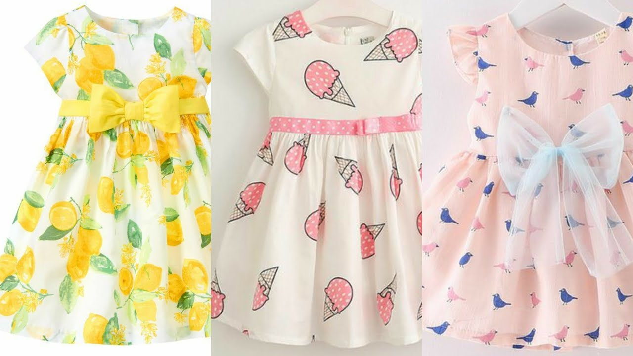 Baby Frocks Designs and Jhabla Designs//Casual Cotton Frocks Designs For 1 to 5 years Girl's