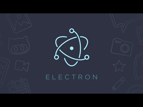 Создание ПК программы на JavaScript  за 20 минут! Библиотека Electron JS
