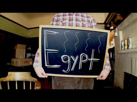 Dan3.0 - Egypt - In which Dan puts things on his wall, makes a vegetarian pizza and talks about Egypt's recent revolution.