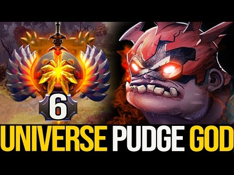 8089 avg MMR Gameplay - SAFELANE PUDGE!!! TOP PRO IMMORTAL RANKING by Universe   Pudge Official