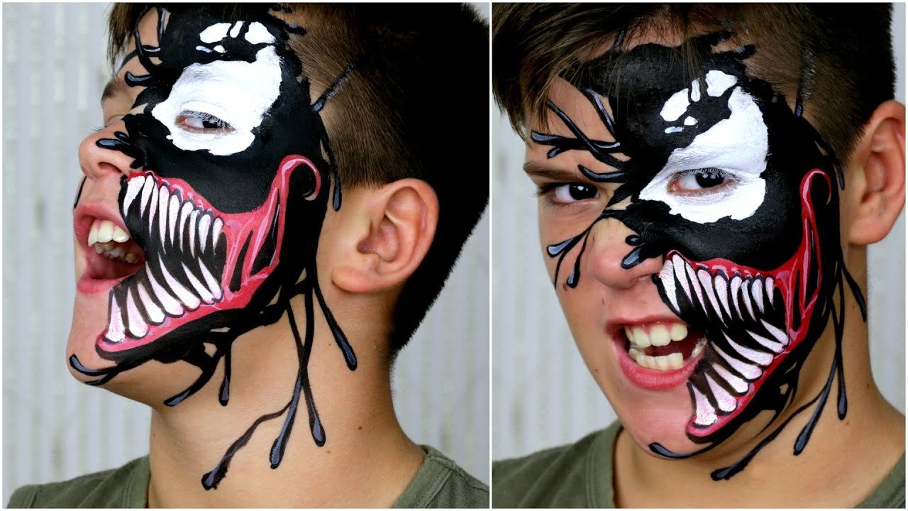 Skeleton face paint black only dating 10