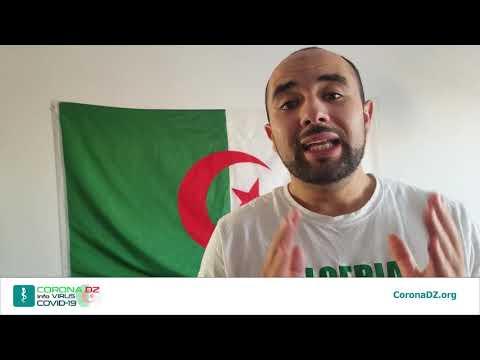 Un appel de coeur pour la solidarité COVID-19 Algérie du Canada sur le site https://coronadz.org/