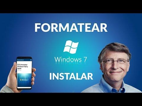 Cómo Formatear Windows 7 Fácil y Rápido