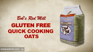 Gluten Free Quick Cooking Oats | Bob's Red Mill