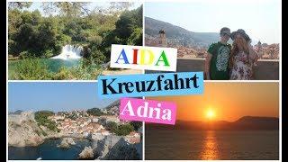 AIDA KREUZFAHRT | Venedig, Korfu, Bari, Dubrovnik, Zadar