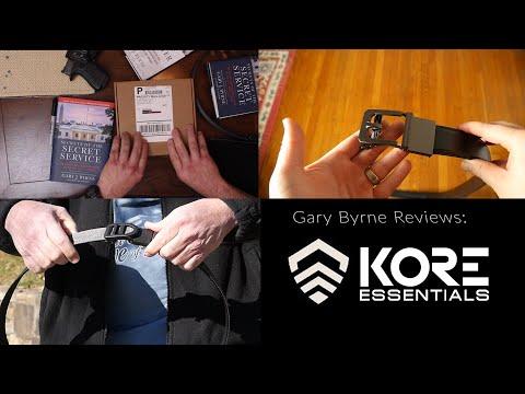 2 Months Wear Kore Essentials Gun Belt Review, EDC and Classic
