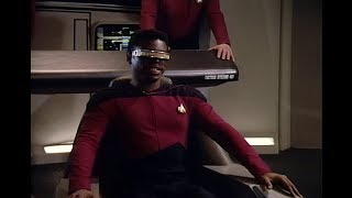 """""""We're A Little Busy Up Here, Captain!"""" Lt. La Forge"""