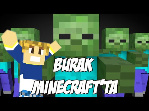 Burak Minecraft'ta