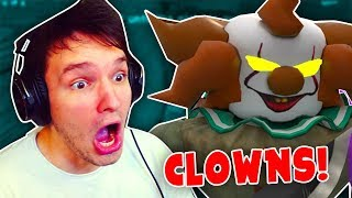 VERSTECK you or the clown will FIND you and then... (Roblox)