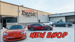 PROJECT TORQUE GARAGE NEW BUILDING