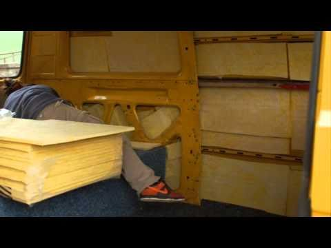 vw bus t3 vom lieferwagen zum camper youtube. Black Bedroom Furniture Sets. Home Design Ideas
