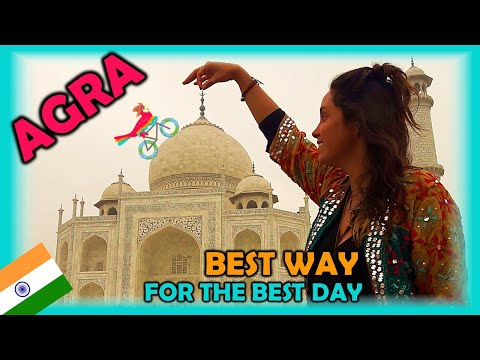 AGRA India, Travel Guide. Free Self-Guided Tours (Highlights, Attractions, Events)