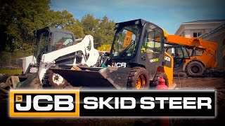JCB's Side-Entry Skid Steer…..It's Just Common Sense.