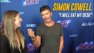 "Simon Cowell: ""I Will EAT My Desk If This AGT Act Gets ELIMINATED"" 