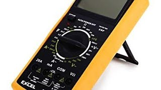 eXCEL DT9205A CHEAP-O Multimeter Review & Teardown!