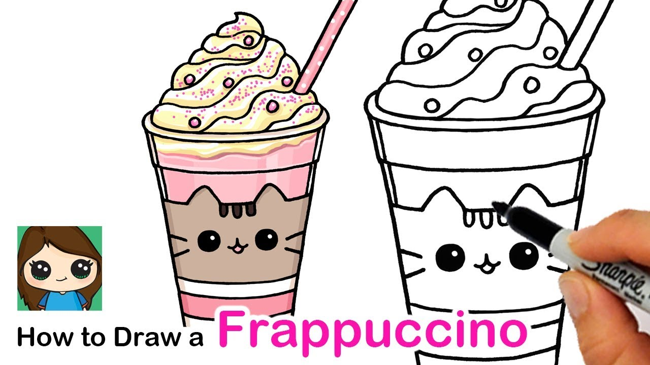 How To Draw A Cute Fruccino Easy