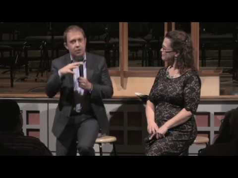 Ludovic Morlot and Christa Wessel in an Oregon Symphony Orchestra Concert Conversation