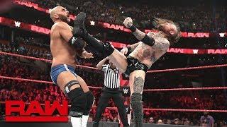 Aleister Black & Ricochet vs. The Revival: Raw, March 25, 2019