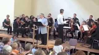 Jörg Schneider erzählt die Bremer Stadtmusikanten Teil 3; Musik: Hanspeter Reimann