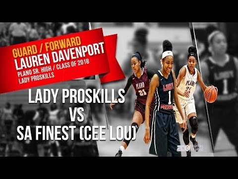 Lady ProSkills 17u vs. SA Finest