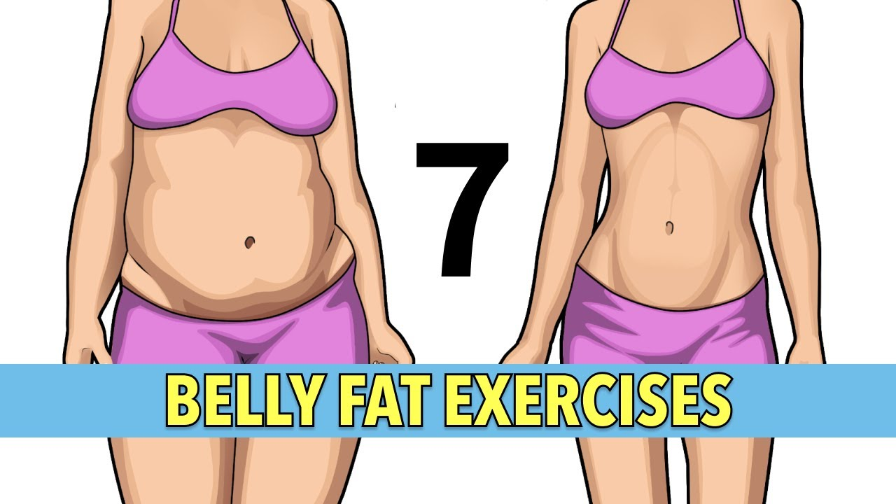 7 Simple Exercises For Belly Fat