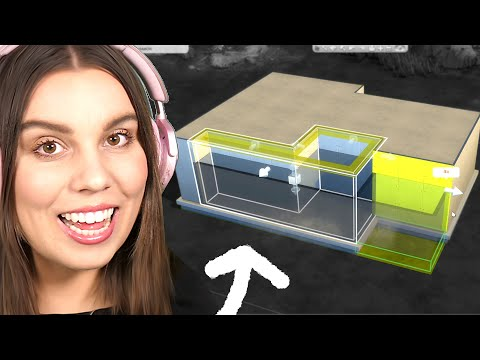 How to build a MODERN home in The Sims 4
