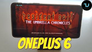 OnePlus 6 Resident Evil: The Umbrella Chronicles Gameplay Wii emulator Snapdragon 845 Dolphin