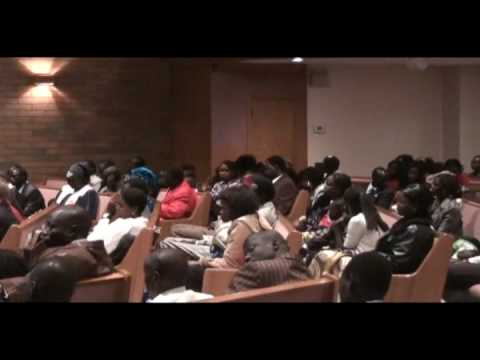 Sudanese christmas at beverley alliance chruch in Edmonton alberta,Canada (part 7)