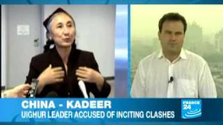 Uighur leader claims 10,000