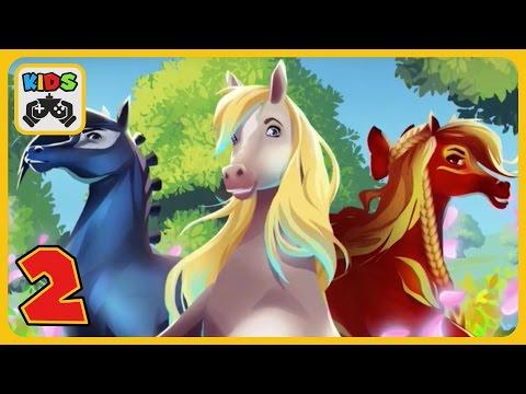 EverRun - Приключения волшебных лошадок. Часть 2. Багрянка | #2 EverRun Legend of the Horse Guardian