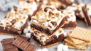How to Make The Best S'mores Brownies