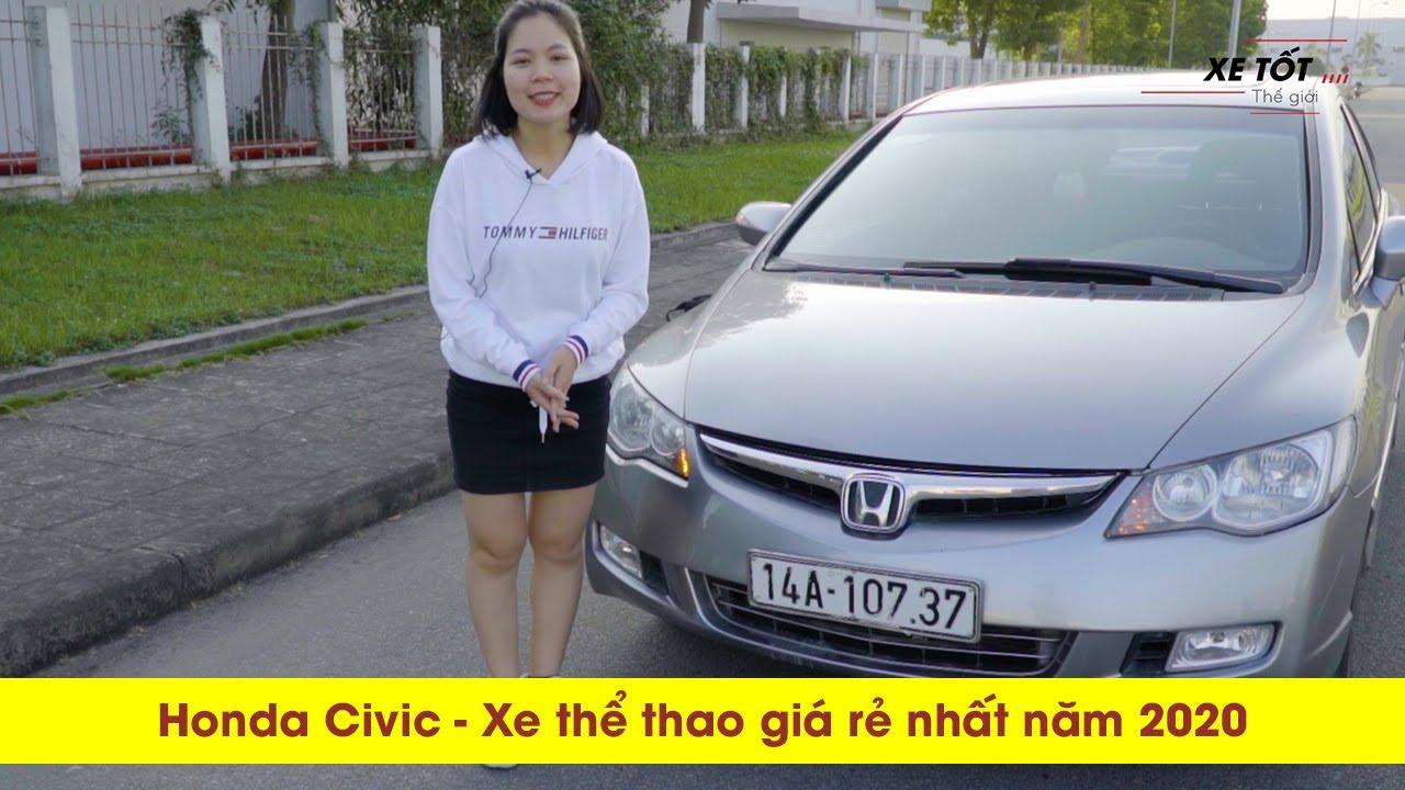 Mua bán xe honda civic cũ 2008 giá rẻ – có nên mua honda civic 2008 – honda civic cũ tầm 300 triệu