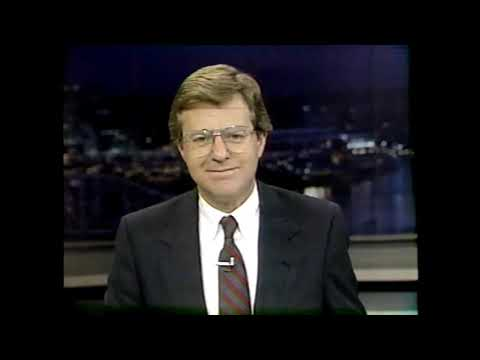 Jerry Springer 1983-1993 WLWT News Anchor Throwbacks & Bloopers - Cincinnati Ohio 80s 90s