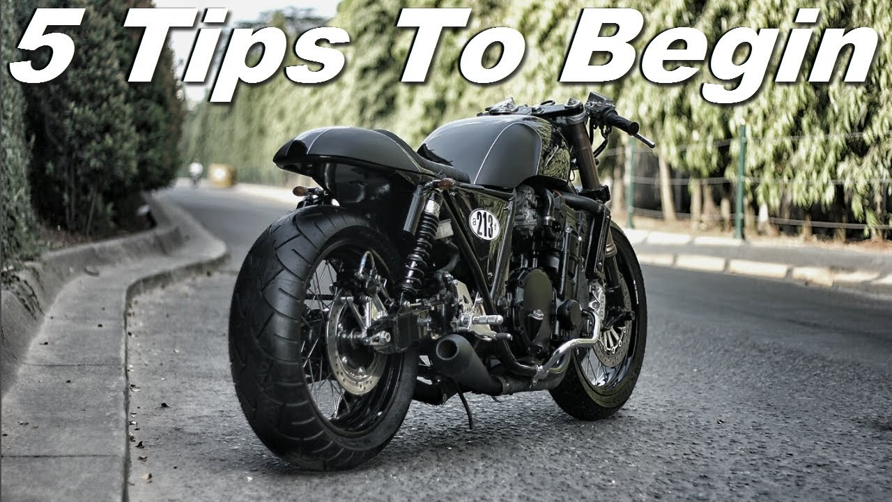 Cafe Racer 5 Tips To Begin Your Cafe Racer Design Youtube