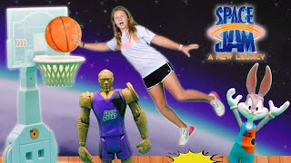 Assistant Rescues Lebron and Bugs Bunny with the SPACE JAM Tunes Squad