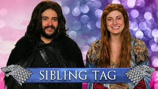 Sibling Tag: Game of Thrones Sansa Vlog!