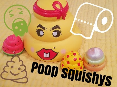 My POOP Squishy Collection