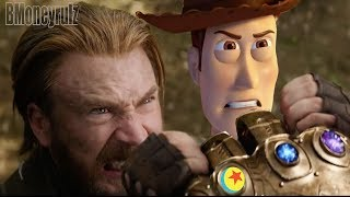 Disney/Pixar's AVENGERS: INFINITY WAR - Mash-Up Trailer Parody 2